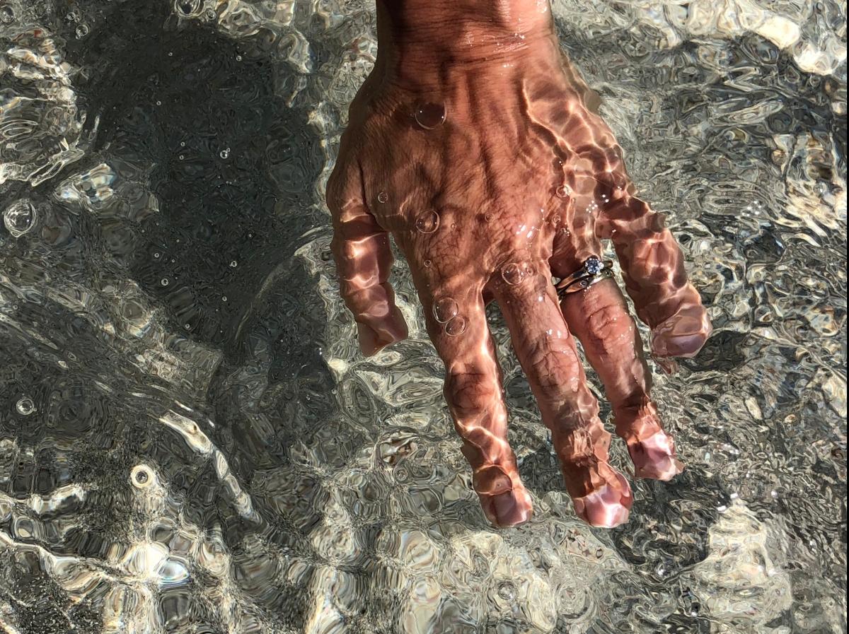 Salvare i Gioielli dall'acqua di mare
