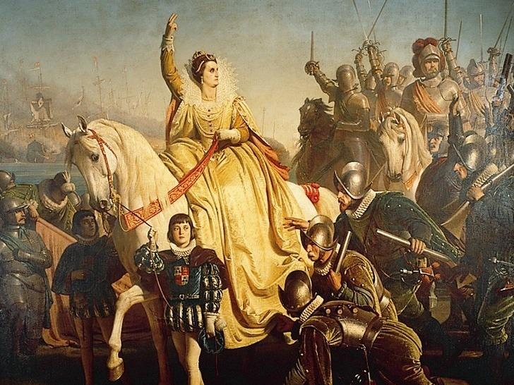 Elisabetta I a Tilbury